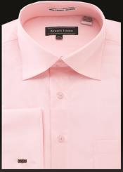 JA487 Mens Avanti Uomo French Cuff Shirt Pink