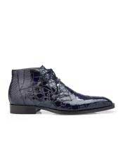 Navy Belvedere Shoe