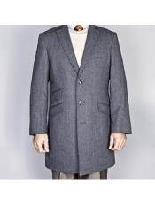 Mens Overcoat mens Single Breasted