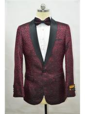 Burgundy ~ Maroon And Black