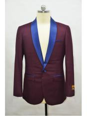 mens Blazer Burgundy ~