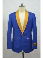 Product#SR134MensBlazer~SuitJacketRoyalBlue