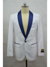 mens Blazer  White