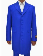 SR184 Mens Royal Single Breasted Seven Button Zoot Suits