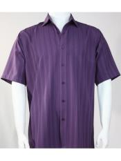 SR260   Mens Bassiri Button Down Short Sleeve