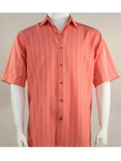 SR262   Mens Bassiri Button Down Short Sleeve