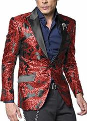 WTX-400 Alberto Nardoni Shiny Jacket Hot Red