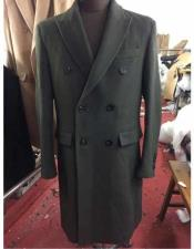 SR295 Mens Big And Tall Wool Overcoat Topcoat Outerwear