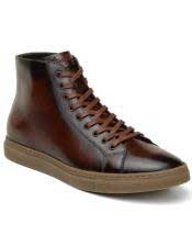 EK333 Mens Brown Lace Up Shoe