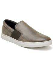 mens Slip On Ghurka Shoe