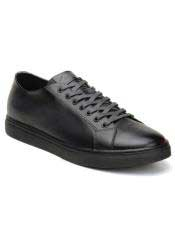 mens Lace Up Charcoal Shoe
