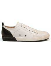 EK350 Mens Calf ~ Leather Black Lace Up Shoe