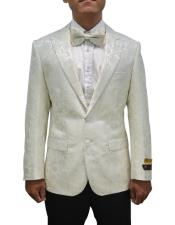 JA693 Cheap Mens Printed Unique Patterned Print Floral Tuxedo