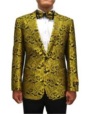 JA694 Cheap Mens Printed Unique Patterned Print Floral Tuxedo