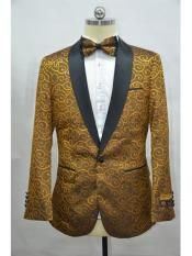 JA717 Cheap Mens Printed Unique Patterned Print Floral Tuxedo