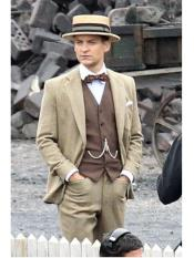 SR313 Mens Great Gatsby Mens Clothing Costumes Suits Style