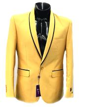 mens Vinci 2 Button Blazer