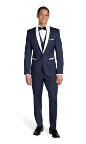 Single Breasted Shawl Lapel Tuxedo