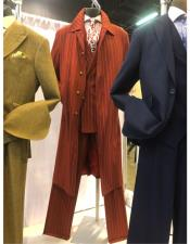 Single Breasted Red Suit For Men Perfect For Prom