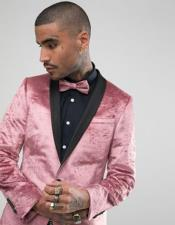 mens Single Breasted Shawl Lapel One
