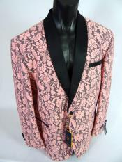 mens Single Breasted Shawl Lapel Jacket
