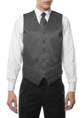 Mens 4PC Big and Tall Vest