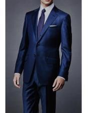 mens  James Bond Navy Wool