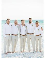 Mens Beach Wedding Attire Suit Menswear