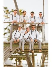 Mens Beach Wedding Attire Suit Menswear