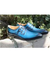 Stitched Welt Slip On Carrucci Shoe