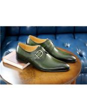 Brown Stitched Welt Carrucci Shoe