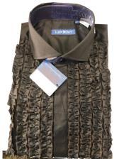 Classic Ruffled Puffy Dress 100% Cotton casual Trendy tuxedo