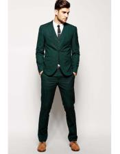 Mens Beach Wedding Attire Suit for Men Menswear Green