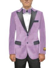 Single Breasted Peak Lapel Two Button Floral Mens Fancy