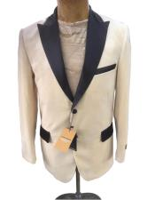 Breasted Ivory Blazer