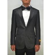 White or Navy mens Blazer