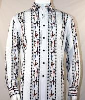 Fashion Full Cut Long Sleeve White Shirt