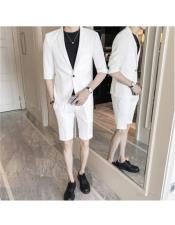 Mens Summer Business Suits With Shorts