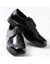 Lace Up Classic Black Shoe