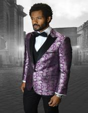 BellagioIVFuchsia1-ButtonPeakTuxedo-3PieceSuit