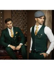 Emerald Green Suit for Men