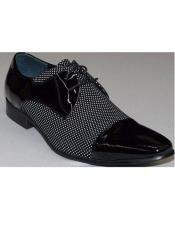 black~whiteLaceUpzotamensdressshoes