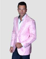 Blazer Pre Order Floral Satin Shiny Fashion Blazer Dinner