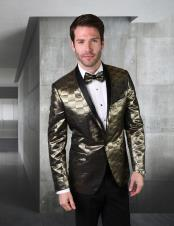 Gold Green Suit or Tuxedo