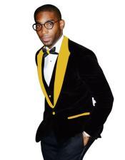 Peak Lapel Black Tuxedo