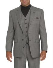 MensSuitsClearanceSaleLightGray