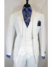 Single Breasted Notch Lapel Suit