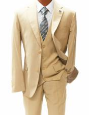 Mens Mordern Fit Notch Lapel Suit