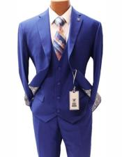 Mens Vested Notch Lapel Suit Two