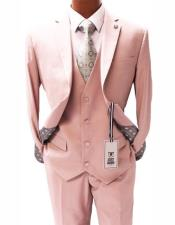 Pink Notch Lapel Two